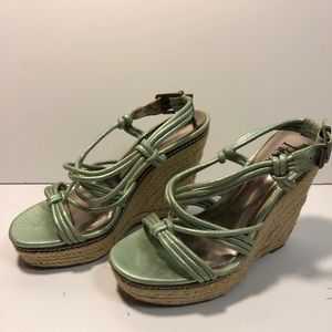 B1G1 Reba Wedges Light Green